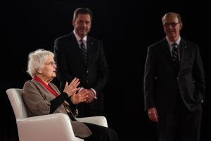 At the 2016 AIA Convention, Denise Scott Brown accepted the AIA Gold Medal for herself and Robert Venturi. It is the first time the award has been given to a collaborative.
