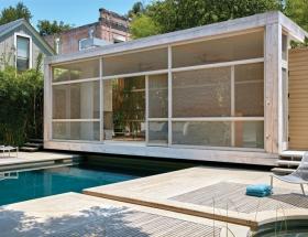 Poteet Architects' Poolside Pavilion