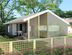University of Houston Students Design Tiny Houses