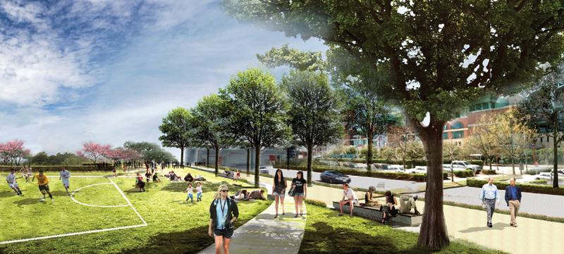 Cap Park Concept View