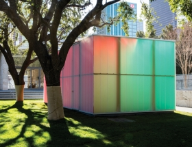 5G Studio Designs a Pavilion at the Nasher with Dutch Artist Ann Veronica Janssens