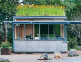 Sanders Architecture's LBJ Wildflower Center Admissions Kiosk
