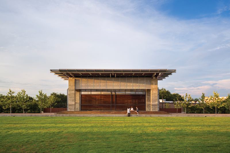 Buffalo Bayou, Water Works Pavilions