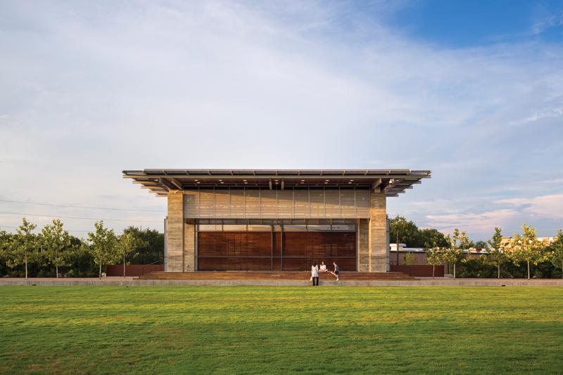 Buffalo Bayou, Water Works Pavilions