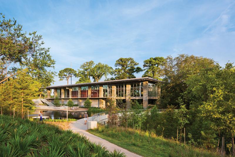 Lost Lake Pavilion at Buffalo Bayou Park