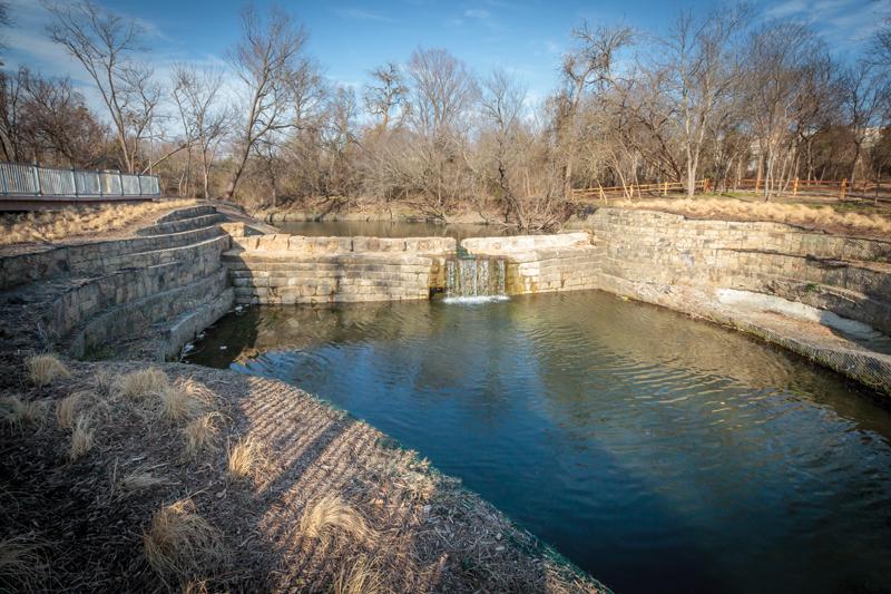 2017-Old Stone Dam at Allen