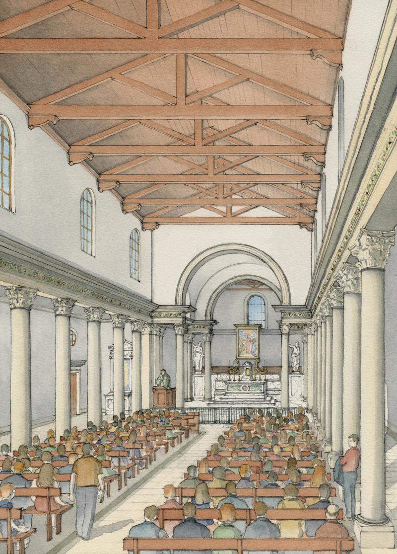 Christoval Carmel int, credit Duncan G. Stroik Architect