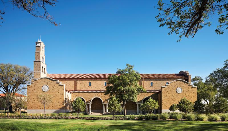 Texas Tech Campus Chapel_Reception Garden looking North_c