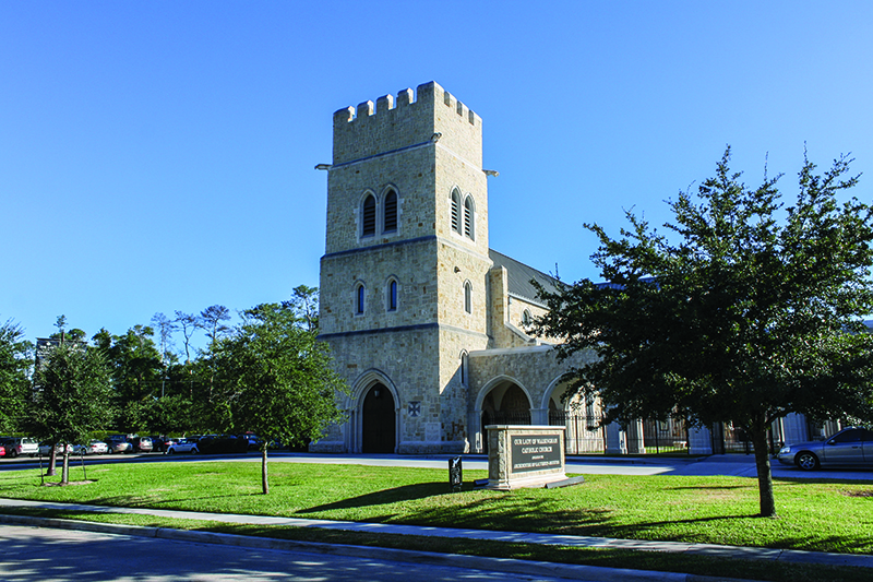 Our Lady of Walsingham, Houston
