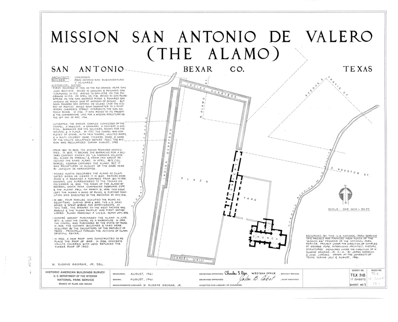 1961 Alamo Survey