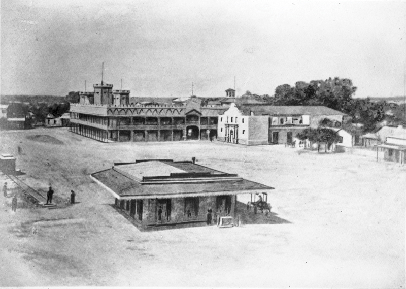 Alamo Plaza,1880