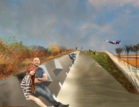 Studio Awards: Palm Street Aircraft Observation  Park, San Diego International Airport, San Diego