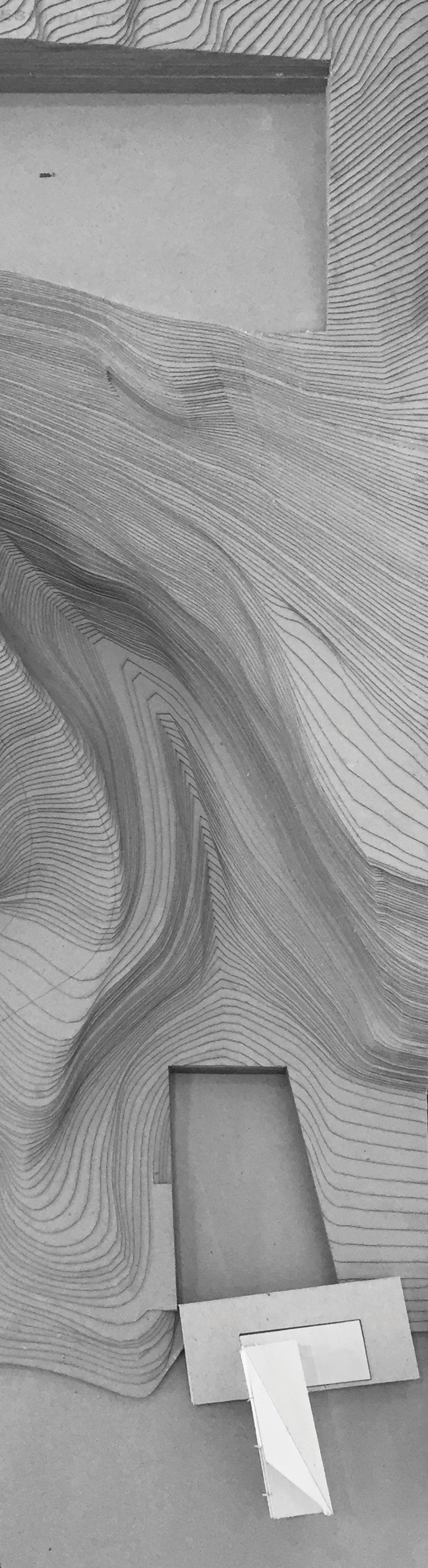 Matt Fajkus Architecture_Filtered Frame Dock_Physical Model_Site