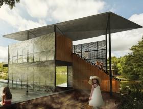 Studio Awards: Filtered Frame Dock, Private Residence, Lady Bird Lake, Austin