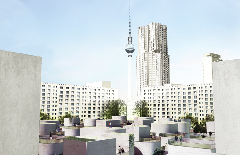 Perspective TV Tower - KMA 3.0 Interrelational Communities