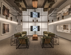 Buchanan Architecture's O'Donnell Digital Library