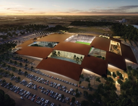 BIG's First Texas Project is a Sports and Entertainment Complex for Austin