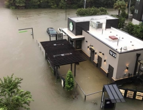 Watertight Houston Starbucks Weathers Harvey Flood Damage