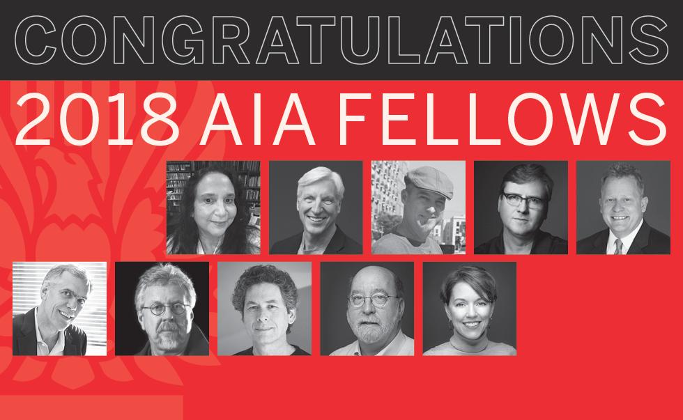 2018 Texas AIA Fellows