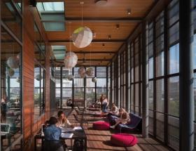 Lake Flato's Austin Library Wins AIA Library Building Award