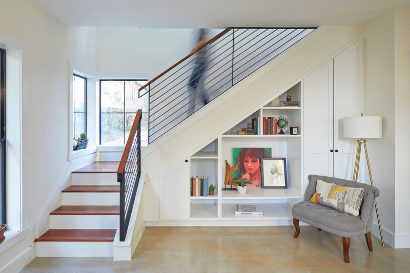 Holly ADU_interior_stair and built in02