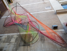 Architecture Students' Installation Enlivens Downtown San Antonio