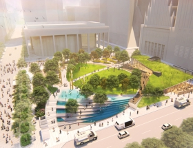 Rios Clementi Hale Studios Selected to Redesign Houston's Jones Plaza
