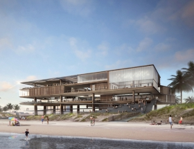 Rogers Partners Unveils Concept  Design for a New Stewart Beach Pavilion in Galveston