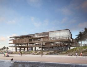 Rogers Partners Unveils Concept  Design for a New Stewart Beach Pavilion in Galveston