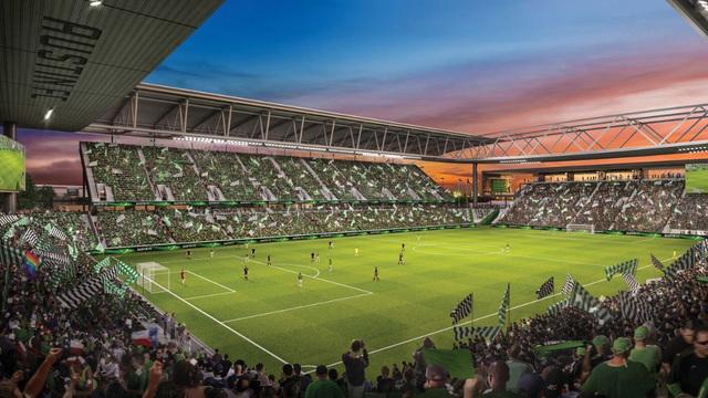 Rending of Austin FC Stadium