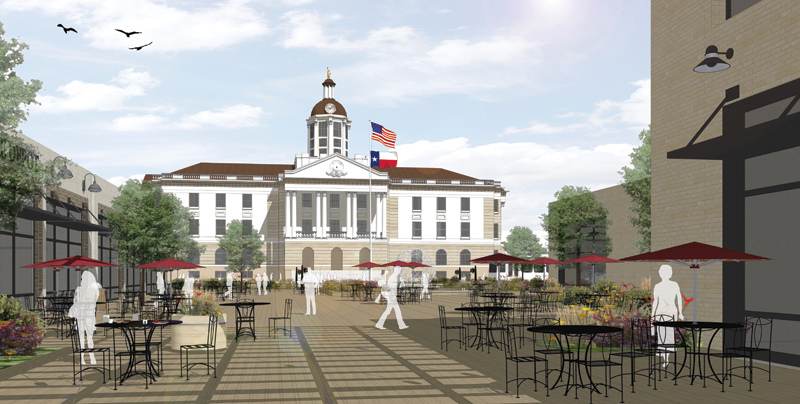 25 Proposed County Courthouse Square