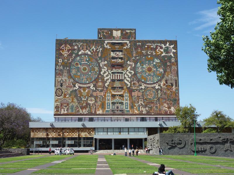 O'Gorman.Central Library.UNAM