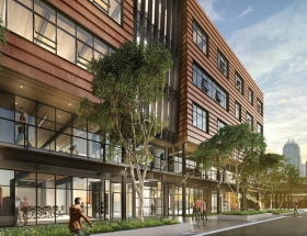 Austin Gets Its First Composite Cross-Laminated Timber Structure
