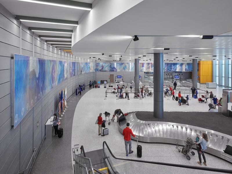 Austin Bergstrom International Airport, Texas