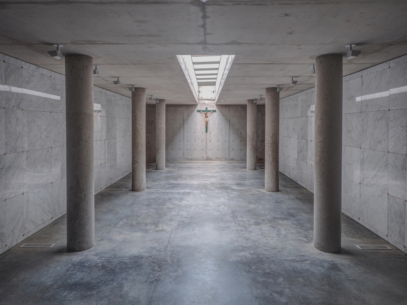 Cistercian Burial Crypt_Overall - James F. Wilson