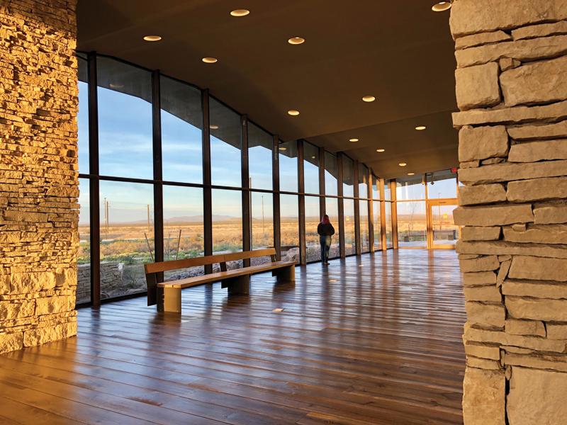 Lobby View to Davis Mountain © Elizabeth Chu Richter 6