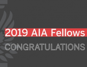 2019 AIA Fellows Announced