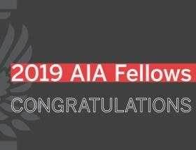 2019 AIA Fellows Announced