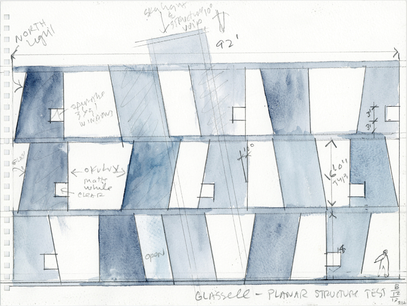 SHA_Watercolor of Glassell School; Courtesy of Steven Holl Architects copy