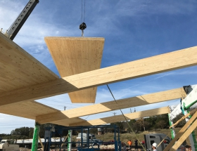 Gensler Designs Texas' First Full Mass Timber Building in Fredericksburg