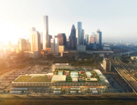 OMA and Powers Brown Unveil Adaptive Reuse Design for Houston's 1962 Central Post Office Building