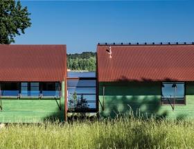 House at Rainbo Lake