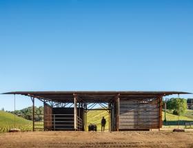 Saxum Vineyard Equipment Barn