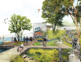 Phase I of Austin's Seaholm Intake Reuse Begins Based on Studio Gang Planning Study