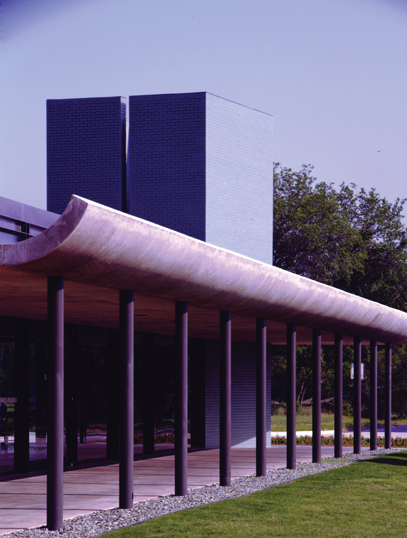Addison Conference and Theatre Center_Porch - James F. Wilson