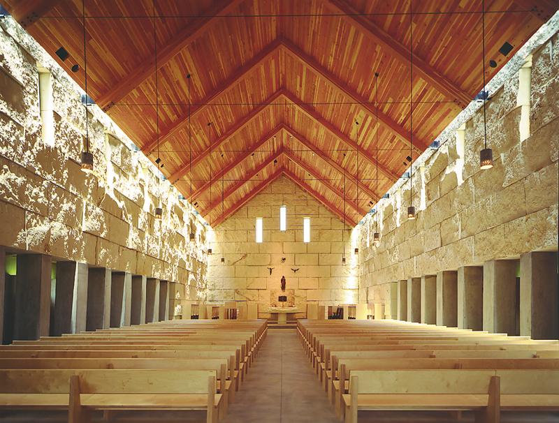 Cistercian Chapel_Interior From Back - James F. Wilson