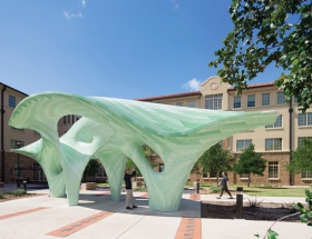 Marc Fornes/TheVeryMany's Zephyr at Texas Tech