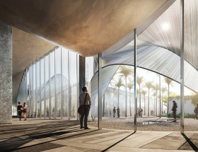 Trahan Architects Designs a Convention Center for Laredo
