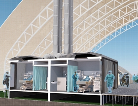 Forge Craft Responds to Coronavirus Pandemic with Design for Modular Medical Unit