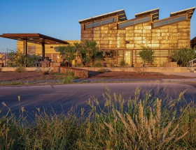 Richter Architects-Designed Port of Entry Humanizes Border Crossing